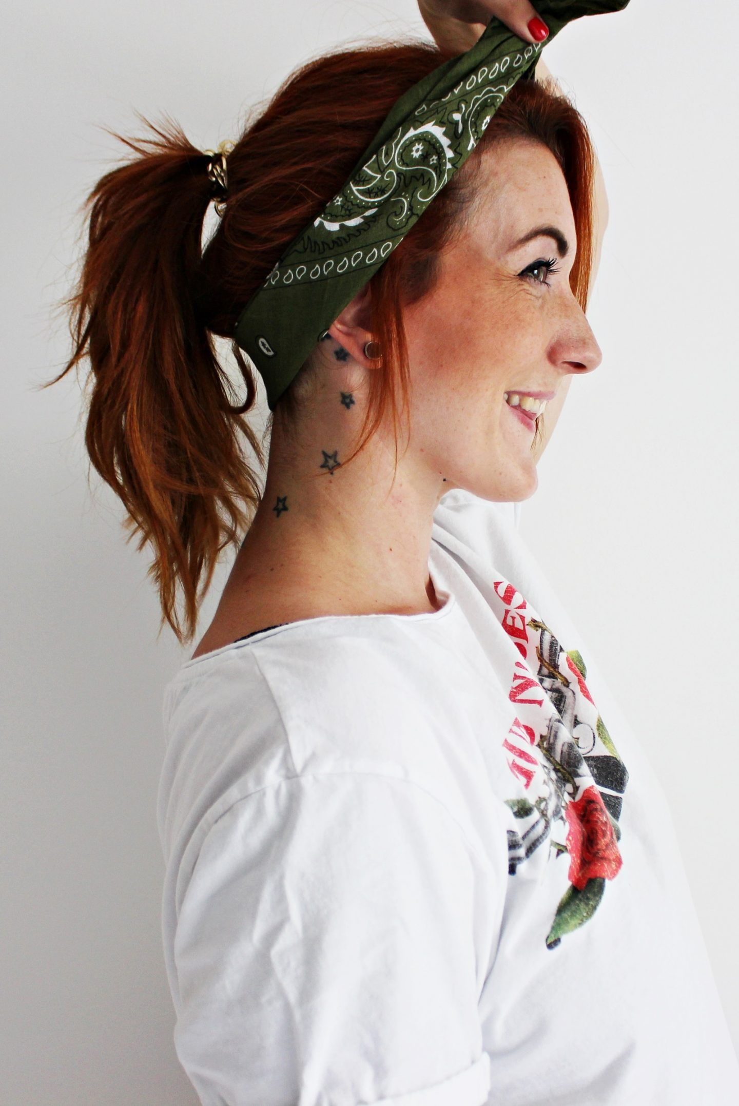 BEAUTY  Schnelle Mama-Frisuren: Bandana Pony + Schicke